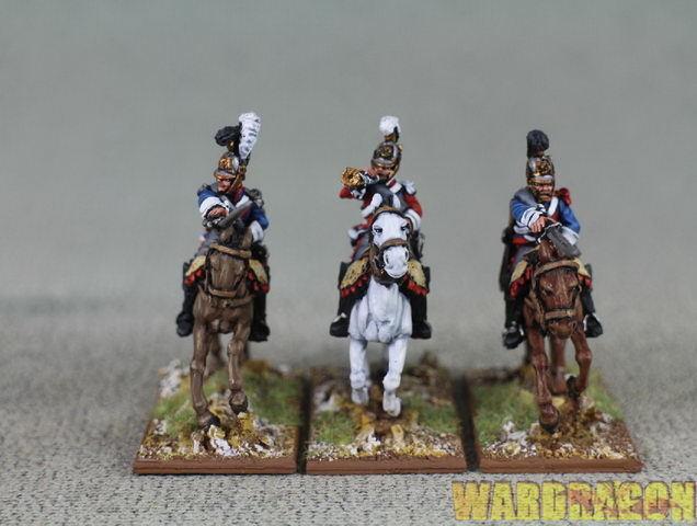 Napoleónicas Wds Pintado holandés belgas DB36 r7 comando CARABINIER belga