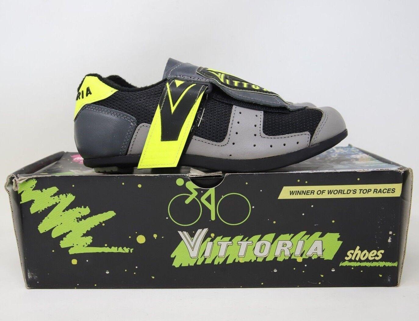 Vittoria Junior Niños carreras de ciclismo zapatos euros-Nos Nib
