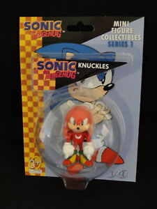 NEW SEGA SONIC THE HEDGEHOG KNUCKLES MINI FIGURE COLLECTIBLES SERIES 1