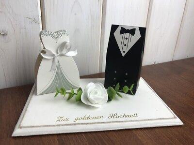 Geldgeschenk Zur Goldenen Hochzeit Hochzeitsgeschenk Wedding Geschenk Ebay