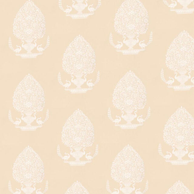 Dolls House Wallpaper 1/12th 1/24th scale Beige Quality Paper #18