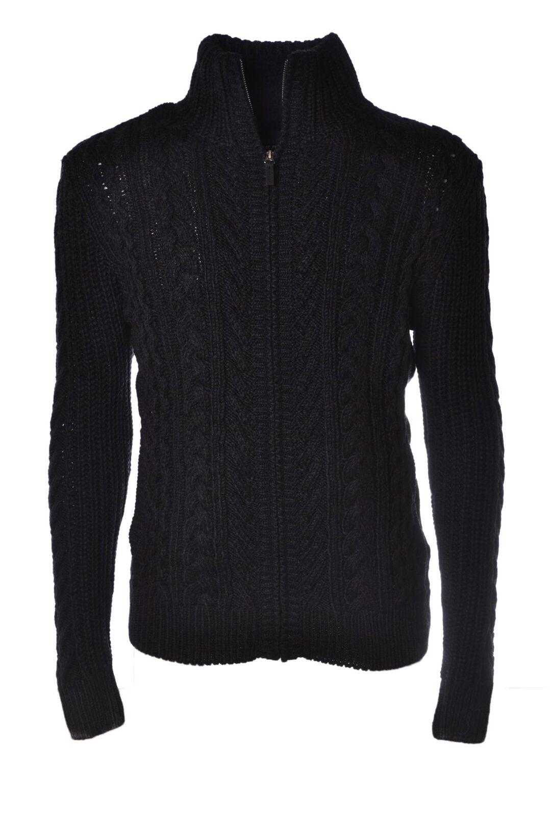 Superdry - Knitwear-Cardigan - Man - Blau - 4345117C185731