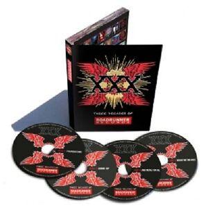 XXX-THREE-DECADES-OF-ROADRUNNER-RECORDS-4-CD-NEW