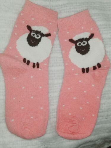 Lamb Sheep Ewe Pink ladies novelty socks Sale herding FREE SHIPPING