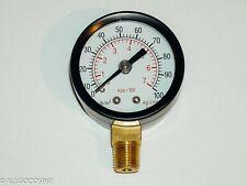 Well Pump Pressure Gauge 1//4/'/'NPT Thread 0-100 PSI 0-7 Bar Water Air Gas Monitor