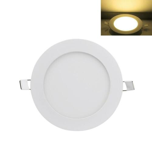 6W 9W 12W 15W 18W LED Recessed Ceiling Panel Down Lights Bulb Slim Lamp