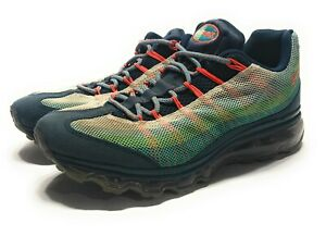 Details about Nike Air Max 95 Dynamic Flywire Running scarpa Turquoise 554715–383 Mens Size 8