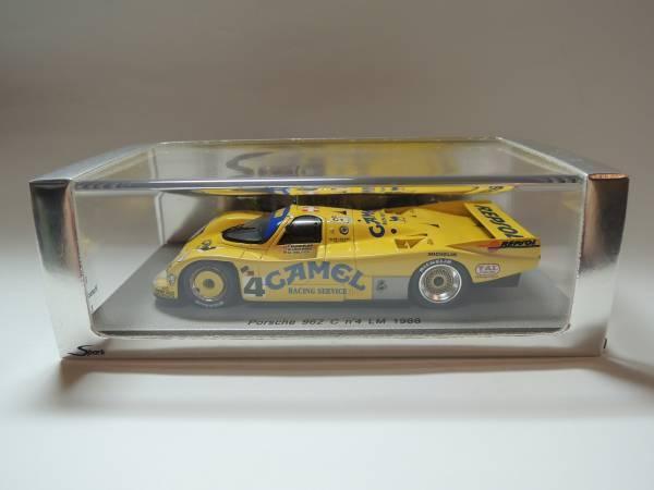 Spark 1 43 Porsche 962 C  4 Le Mans 1988 very rare NA005 Camel