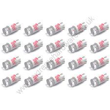 20 X 12v 10mm T10 base cuña roja Bombillas LED Para Pulsadores-Mame Arcade