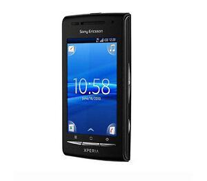 sony ericsson xperia x8 e15i black unlocked smartphone wifi free rh ebay com Xperia X8 GSMArena Xperia X7