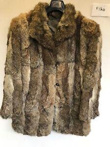 Ladies I Fur Real 22 Vintage F120 Coat 33 Brun Armpit Length Armhulen BdICUqw