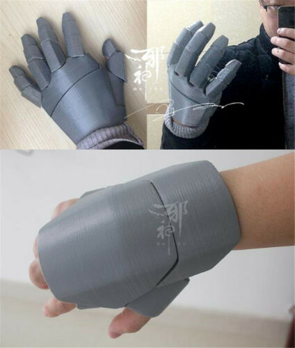 Marvel Avengers Iron Man Cosplay 3D Printing Gloves Mitten DIY Model Kits Prop