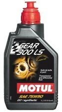 105778 Motul GEAR 300 LS 75W90 100% Synthetic Gear Oil,  Limited Slip (1 Liter)
