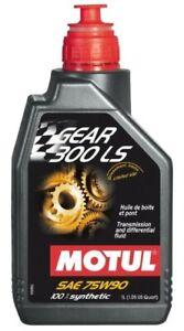 105778 Motul GEAR 300 LS 75W90 100% Synthetic Gear Oil,  Limited Slip (1 Liter)
