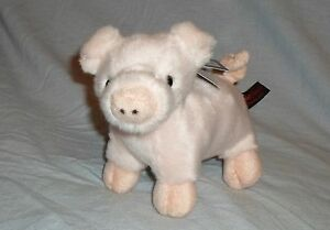 DOWMAN 18cm PIG SOFT TOUCH TOYS - CUDDLY PLUSH CUTE ANIMAL