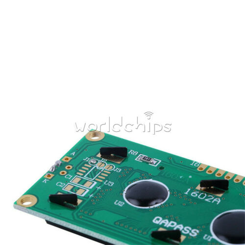 10Pcs DC 5V 1602 16x2 HD44780 Character LCD Display Module LCD blue blacklight