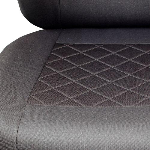 Schwarze Sitzbezüge für MITSUBISHI SPACE STAR Autositzbezug VORNE