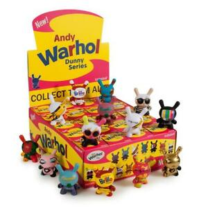 Kidrobot-Andy-Warhol-Series-1-FULL-CASE-of-20-Blind-Boxed-Dunny-3-034-Mini-Figures