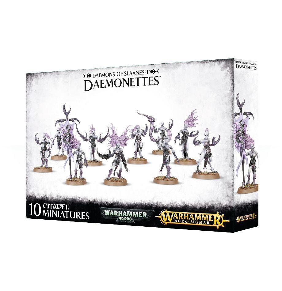 Dämonetten of Slaanesh Daemons Games Workshop Warhammer 40.000 Age of Sigmar