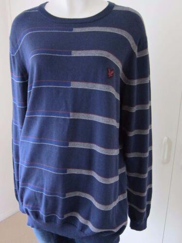 Size veloce Scott and Placed Ridotto la per vendita Lyle Genuine Stripe L Jumper qxnxtPTpO