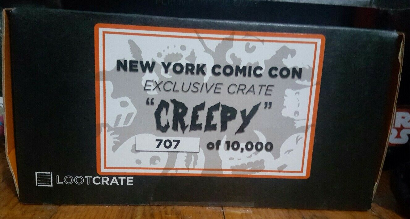 Lootcrate NYCC 2015 Creepy Crate Sealed