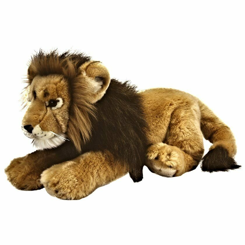 45cm Living Nature Male Lion Soft Toy