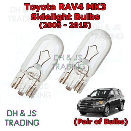 Toyota RAV4 Side Indicator Bulbs Side Indicator Bulbs Bulb Light RAV 4 MK3 05-15