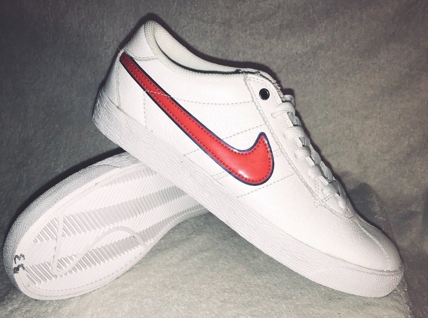 Nike Skateboard Bruin SB Premium SE QS Red White Blue 716814-164 Comfortable New shoes for men and women, limited time discount Casual wild