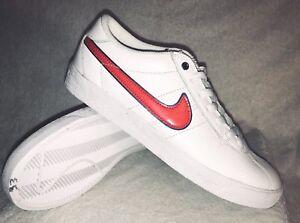 best sneakers a6732 d2490 Image is loading Nike-Skateboard-Bruin-SB-Premium-SE-QS-Red-