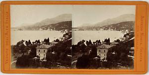 Noack, Stéréo, Italie, vedute dell Alta Italia Vintage stereo card,  Tirage al