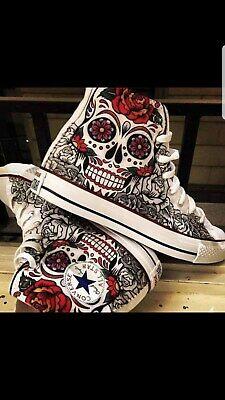 converse all star skull