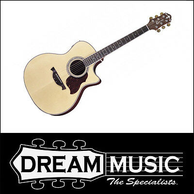 Industrious Crafter Gae8 Grand Auditorium Spruce Top Natural Satin Electro Acoustic Rrp$949 Wide Selection; Musical Instruments & Gear Acoustic Electric Guitars