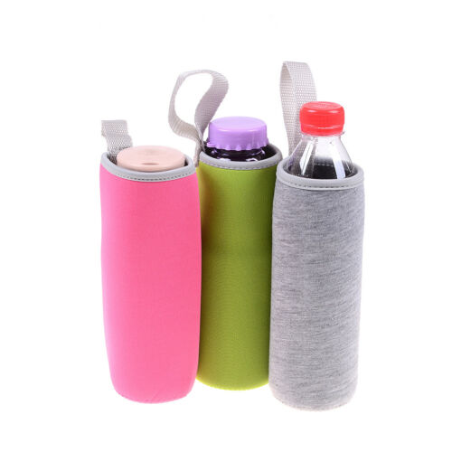 Sport water bottle cover neoprene insulated sleeve bag case pouch neTC