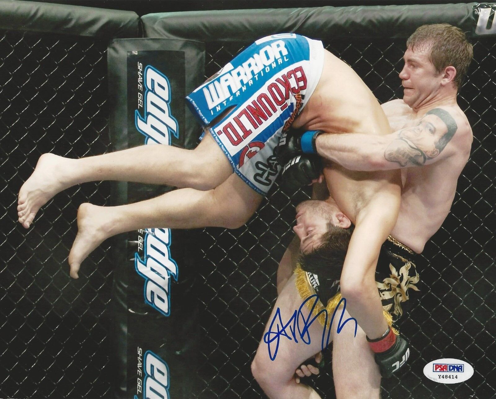 Alan Belcher UFC Fighter signed 8x10 photo PSA/DNA # Y48414