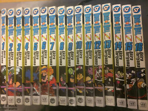 Dragon Ball Z Manga Volume 1-16 Set Lot English Anime Book Akira Toriyama