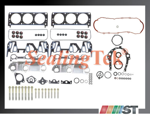 Fit 95-99 GM 3100 3.1L 189 V6 M #2 Engine Full Gasket Set w// Bolts Kit cylinder