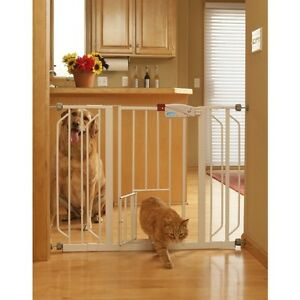 carlson 44 inch extra wide pet and baby gate ebay. Black Bedroom Furniture Sets. Home Design Ideas