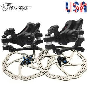 Bicicleta-Plegable-frenos-de-disco-mecanico-140-160-180-203mm-Bicicleta-de-Montana-Bici-Rotor-De