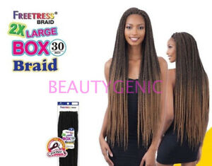Freetress Crochet Braid 2x Large Box Braid 30 Inch Ebay
