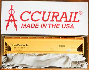 Accurail HO #81371 (Rd #60015 EPC) Corn Products (3-Bay ACF Cov'd Hopper)Plastic