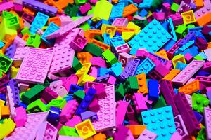 1-1000-POUNDS-GIRL-Friends-COLORS-BRAND-NEW-LB-LEGO-LEGOS-PIECES-HUGE-BULK-Lot