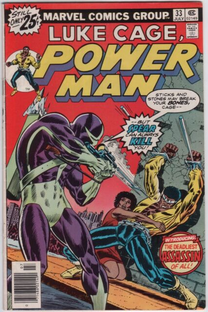 Luke Cage Power Man 33 Good/Very good