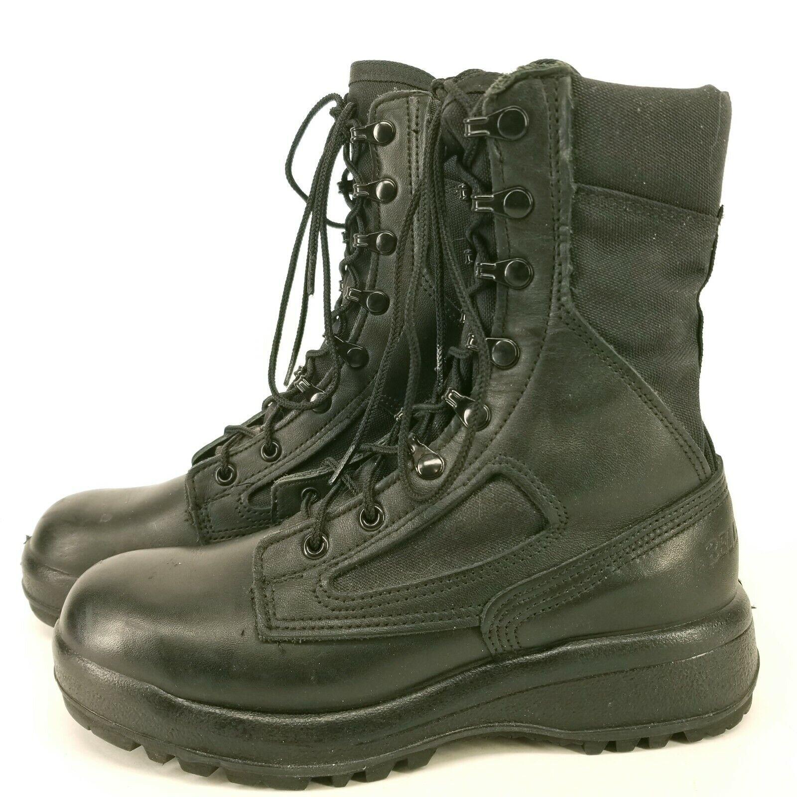 Belleville 390 TRP Mens 5.5 Tropical Hot Weather Boots Black
