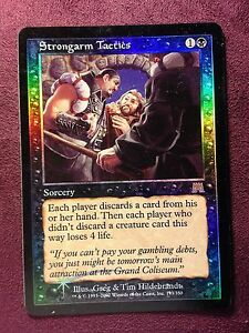 Strongarm-Tactics-Foil-Onslaught-VO-MTG-Magic-NM