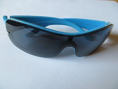 Funky-fish Kinder Sonnenbrille Hellblau Blume Für Mädchen Sonnenschutz Sommer Modern Und Elegant In Mode