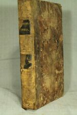 The Works of the Rev. Thomas Zouch rare antique old leather book 1820 sermons