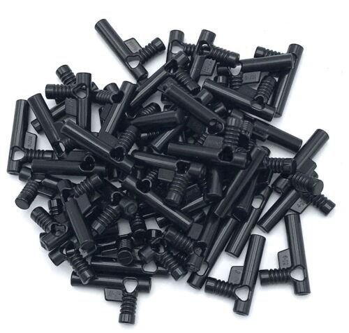 LEGO LOT OF 50 NEW BLACK ELABORATE NOZZLE HOSE GUNS PIECES
