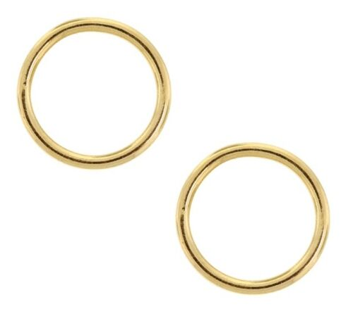 Gold Filled CLOSED Jump Ring 19 Ga 7 MM Pkg. Of 10 SOLDERED CLOSED #F691
