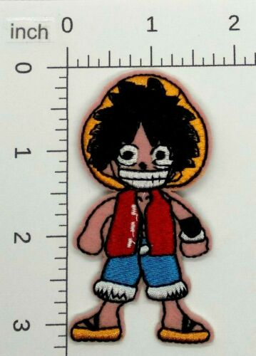 japanese japan farmer BOY sew or Iron On Embroidered Patch 421