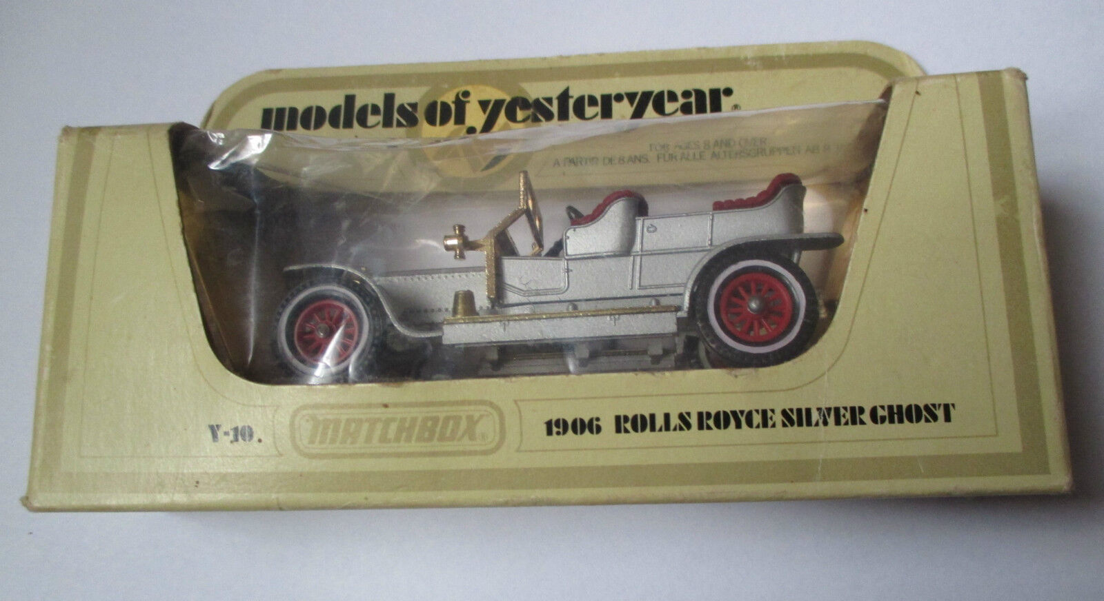 Voiture miniature   Rolls Royce 1906 (matchbox Y-10 1978 models of yesterday)